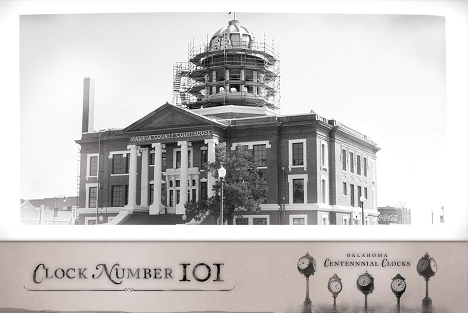 Image of project history of Oklahoma Centennial Clocks
