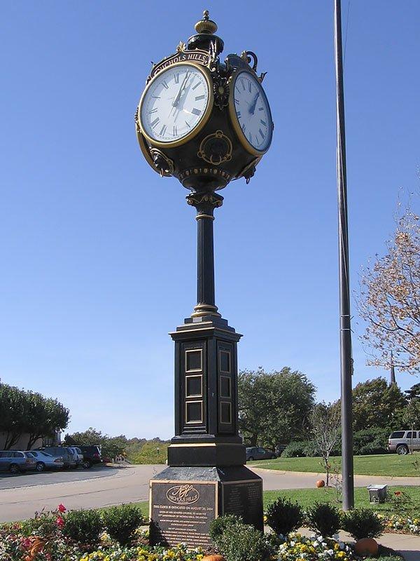 Extra Large Four-Face Centennial Clock