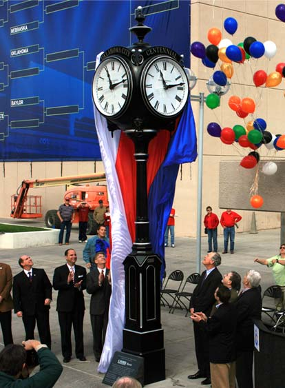 Image of Oklahoma Centennial Clocks