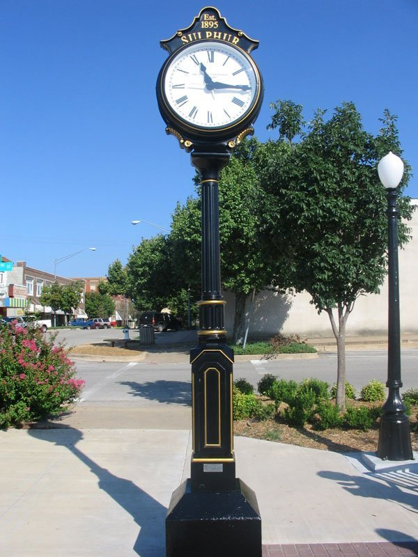 Large Two-Face Centennial Clock