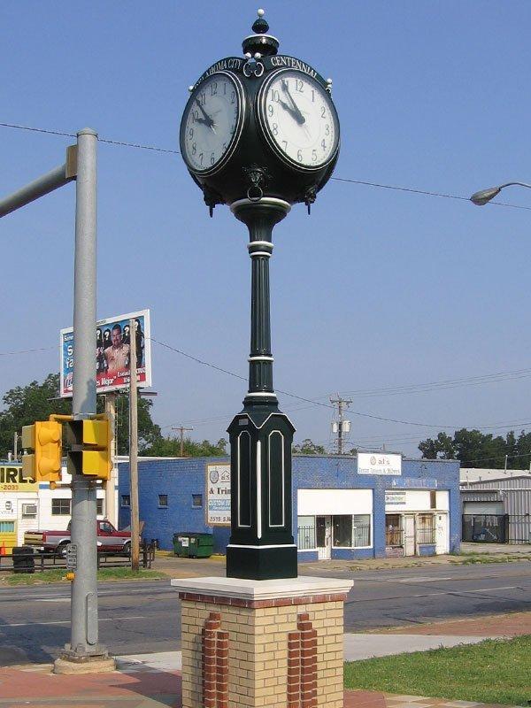 Small Four-Face Centennial Clock